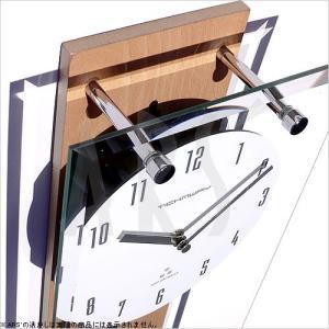 壁掛け時計 ウォールクロック 振り子時計 電波時計 オシャレ 北欧 おしゃれ シンプル アンティーク モダン 木製 インテリア 高級|arsonline|02