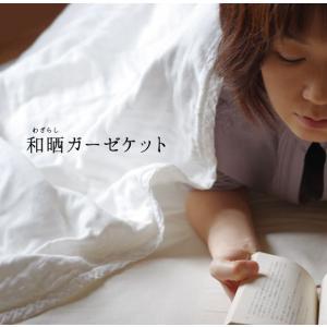 和晒 5重ガーゼケット オフホワイト シングルサイズ (送料無料!) art-digital