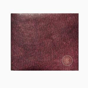 【Paperwalletペーパーウォレット】Flat Wine 二つ折り財布【Printed on DuPont(TM)Tyvek(R)】|art-eco