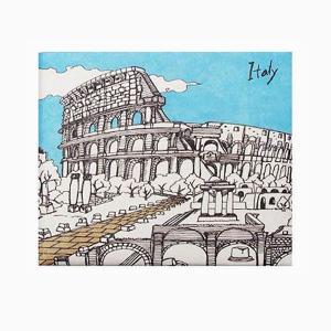 【Paperwalletペーパーウォレット】Italia 二つ折り財布【Printed on DuPont(TM)Tyvek(R)】|art-eco