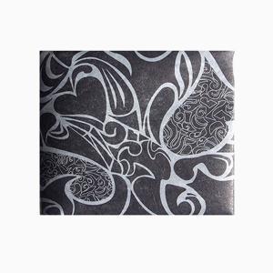 【 Paperwalletペーパーウォレット 】Heart 二つ折り財布【Printed on DuPont(TM)Tyvek(R)】|art-eco