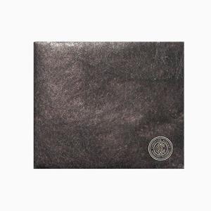 【 Paperwalletペーパーウォレット 】Flat Brown 二つ折り財布【Printed on DuPont(TM)Tyvek(R)】|art-eco