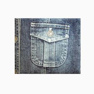 【 Paperwalletペーパーウォレット 】Jean2 二つ折り財布【Printed on DuPont(TM)Tyvek(R)】|art-eco