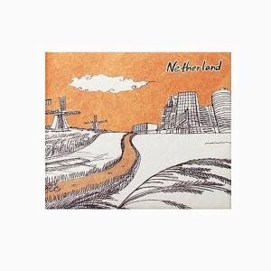 【 Paperwalletペーパーウォレット 】Netherlands 二つ折り財布【Printed on DuPont(TM)Tyvek(R)】|art-eco