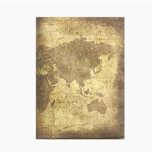 【Paperwalletペーパーウォレット】Antique map パスポートカバー【Printed on DuPont(TM)Tyvek】|art-eco