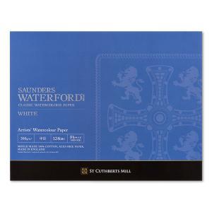 ウォーターフォード水彩紙 ホワイト ブロック EHB-F6 スケッチブック の商品画像|ナビ