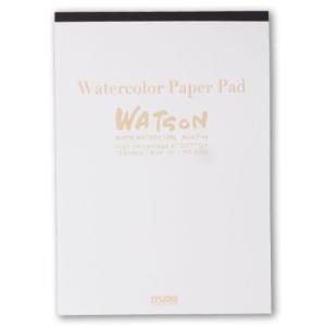 ミューズ 水彩紙 ホワイトワトソンPDパッド PD-6206 [F6] 厚口 190g[スケッチブッ...
