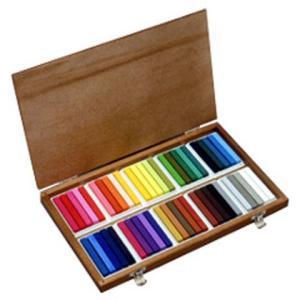 オイルパステルは顔料をワックスと油でねり、柔らかな描き味をだすようにした棒状の絵具です。 油絵具用の...