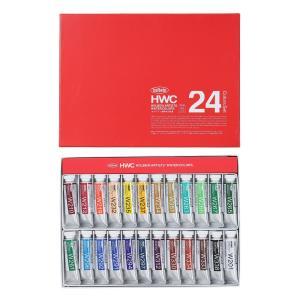 ホルベイン透明水彩絵具 24色セット 5号チューブ(15ml) W444
