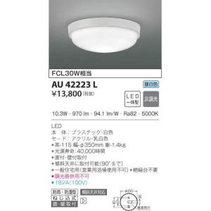 AU42223L コイズミ照明 LED防雨防湿型器具|art-lighting