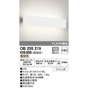 OB255219 オーデリック LED洋風ブラケット