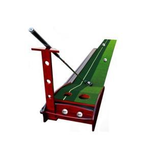 天然木ゴルフパター練習セット art-ya