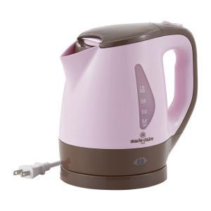 マリ・クレール パーソナル電気ケトル1.2L MC-710 おしゃれ かわいい ピンク art-ya