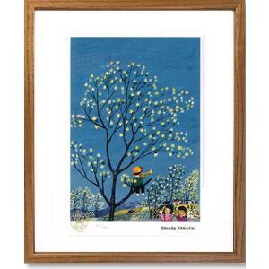 絵画 谷内六郎 (たにうちろくろう)・若葉もパチパチアンコール 版画 インテリア art1