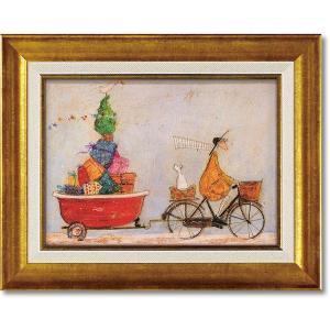 絵画 サムトフト バスタブいっぱいの元気 現代アート インテリア