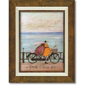 絵画 サムトフト フレッシュエアーの浜辺 現代アート インテリア|art1