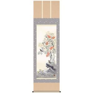 田村竹世・四季花鳥(冬/単幅)(花鳥画掛け軸・掛軸)(床の間)|art1