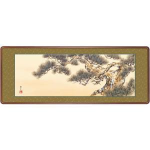 絵画 日本画 千樹松・永井暁月 吉祥画 和装額 和額 和室インテリ|art1