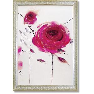 マリリンロバートソン/絵画/花フラワー/オリエンタルローズ2(アート・複製画)|art1