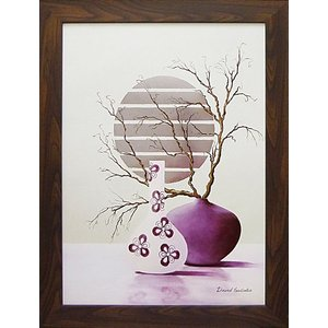 デビッドセダリア/絵画オリエンタル/パープルインスピレーション(絵画・インテリア)|art1