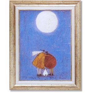 サムトフト現代アート・月夜の二人(絵画・アート)|art1