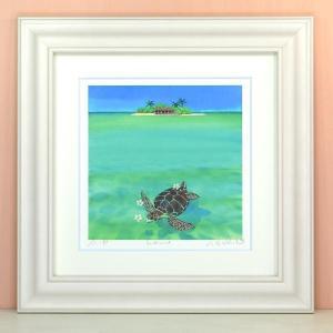 栗乃木ハルミ(くりのきはるみ)・honu(絵画・版画・インテリア)|art1
