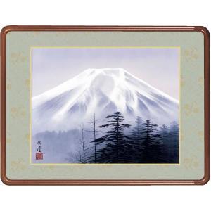 絵画 日本画 霊峰富士・小川伯堂 和装額 和額 和室インテリア|art1