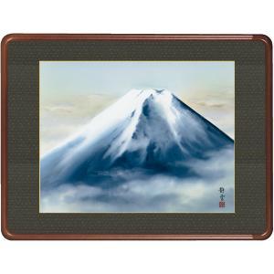 絵画 日本画 霊峰富士・佐藤静雲 和装額 和額 和室インテリア|art1