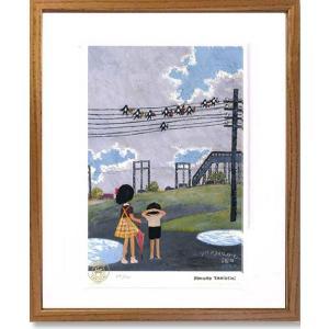 絵画 谷内六郎 (たにうちろくろう)・ツバメフィルハーモニー 版画 インテリア art1