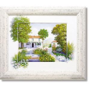 ピーターモッツ/絵画/庭園アート/ラブリーデイ(絵画・インテリア)|art1