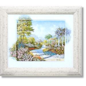 ピーターモッツ/絵画/庭園アート/ウォーキングスルーザパーク(絵画・インテリア)|art1