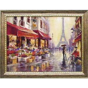 ブレントヘイトン/風景画ランドスケープ/エイプリルインパリ(絵画・インテリア)|art1