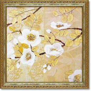 マティーナセオドシウ/絵画オリエンタル/黄金色の輝き2(絵画・インテリア)|art1