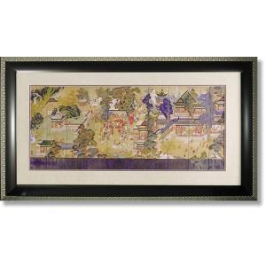 絵画 和風フレーム 郭子儀の宴 日本画|art1