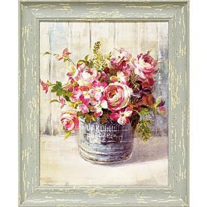 ダン フイナイ花々アート/庭園の花(絵画・インテリア・花) art1