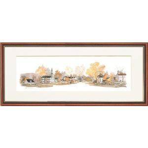 レオナルドウェーバー・キンダーフック.NY.USA(絵画・アート)(風景画)|art1