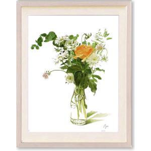 絵画 花 高橋彩・Natural Bouquet インテリア art1
