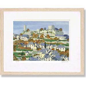 絵画 版画 グラニック・トゥレーンの秋/フランス 風景画 インテリア|art1