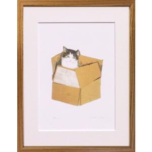 絵画 版画 猫 久下貴史・フェデリコ急便 インテリア art1