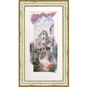 絵画 ピーターモッツ パエーゼヴェネツィア 庭園アート インテリア art1
