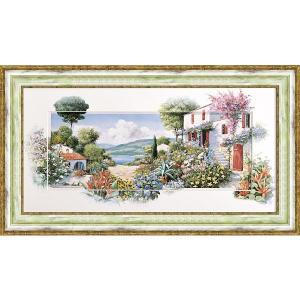 絵画 ピーターモッツ ラーゴディマッジョーレ2 庭園アート インテリア art1