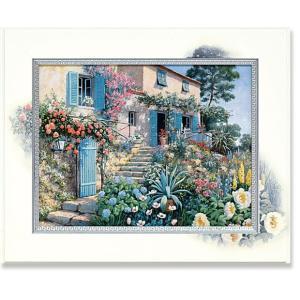 ピーターモッツ/絵画/庭園アート/カーサトスカーナ(絵画・インテリア)|art1