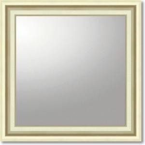 デコラティブ大型ミラー・モダン(Modern)(正方形/シルバー) ミラー・インテリアミラー|art1