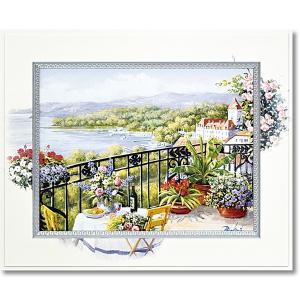 ピーターモッツ/絵画/庭園アート/ガーデンテラスビュー(絵画・インテリア)|art1