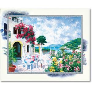ピーターモッツ/絵画/庭園アート/オーシャンテラス(絵画・インテリア)|art1