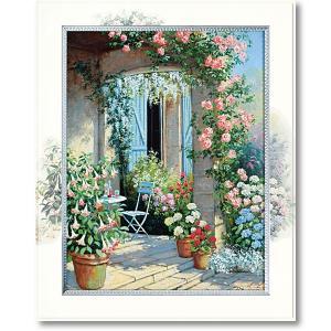 絵画 ピーターモッツ カーサラヴェンナ 庭園アート インテリア art1