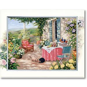 ピーターモッツ/絵画/庭園アート/カーサロッサ(絵画・インテリア)|art1