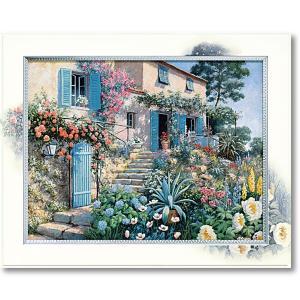 絵画 ピーターモッツ カーサトスカーナ 庭園アート インテリア art1
