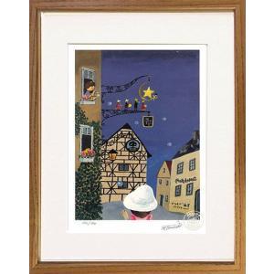 絵画 谷内六郎 (たにうちろくろう)・ブリキの一番星 ドイツにて 版画 インテリア art1