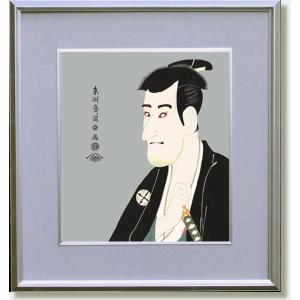 東洲斎写楽・志賀大七(絵画・日本画・浮世絵・インテリア)|art1